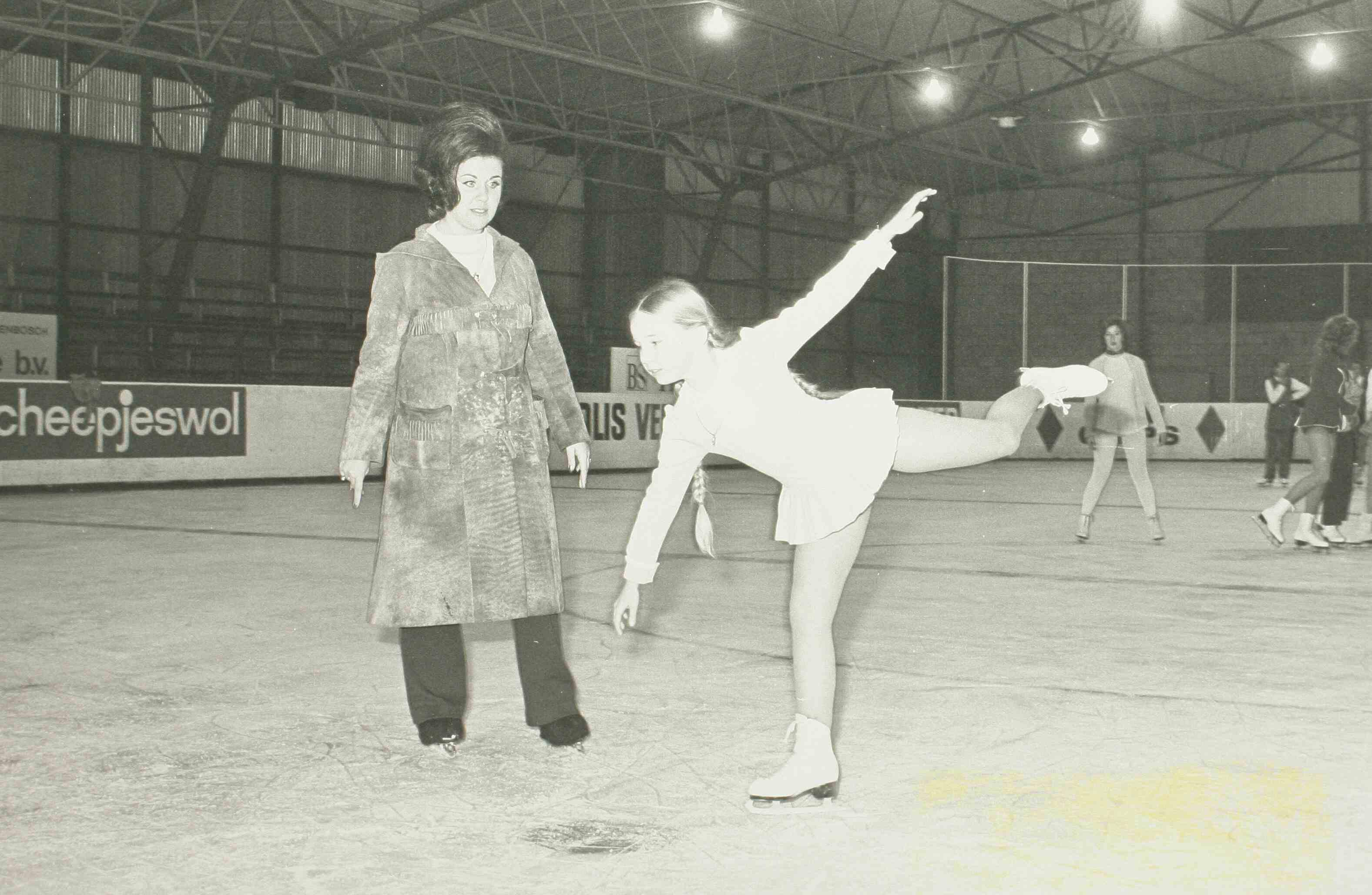 Truus geeft les 1971 (uit stadsarchief)