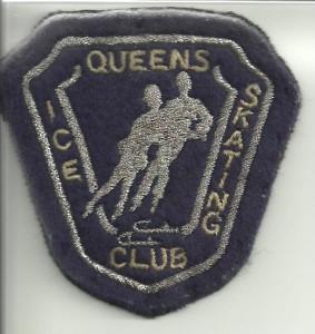 Geborduurd embleem Queens